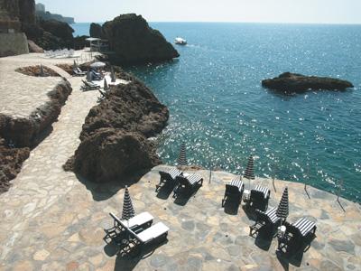 Flitterwochen in Antalya