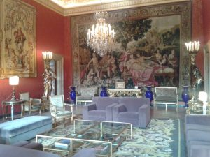 Salon, Villa Farnese, Rom