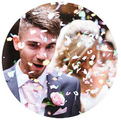 Hochzeitsratgeber - Hochzeitsfeier