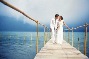 Eheschließung am Meer
