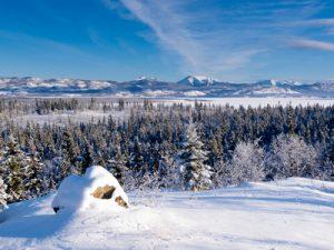 Landschaft im arktischen Kanada