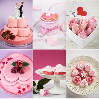 Hochzeitstorte, Hochzeitskuchen oder kleine Cupcakes?