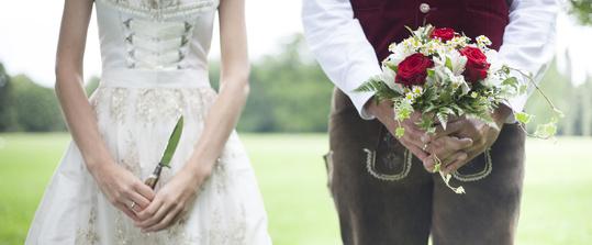 Bayerisches Brautpaar