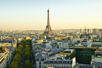 Ausblick auf Paris und den Eifelturm