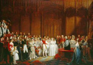 Königin Victoria und ihr Prinz Albert heirateten am 10. Februar 1840, und das weiße Hochzeitskleid machte Furore. © Gemälde von Sir George Hayter. Wikipedia (gemeinfrei)