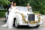 Hochzeit am 08.08.08   Hochzeitsfahrt im Bentley