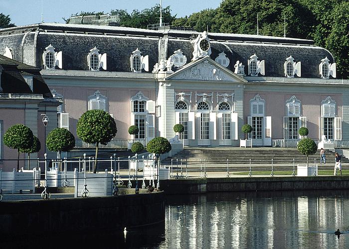 Standesamtliche Trauung Auf Schloss Benrath In Dusseldorf