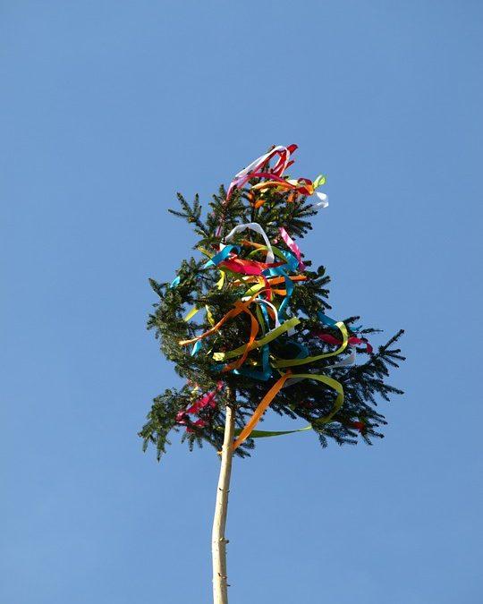 Der Maibaum steht! – Die Hochzeitsplanung auch?