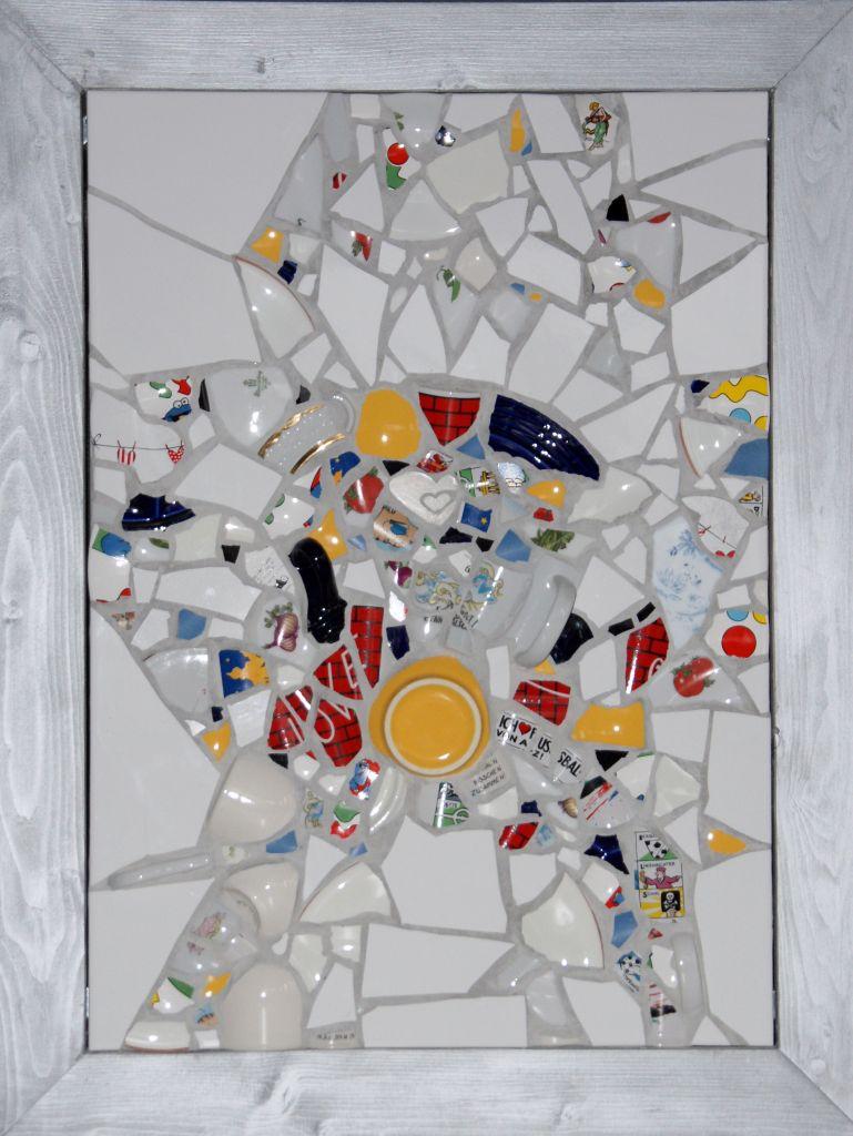 Poltermosaik von Ursula Burgdorf