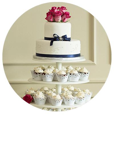 Hochzeitstorte & Süßes